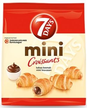 7 DAYS Mini Kruvasan 10 X 30 Gr Kakao Kremalı
