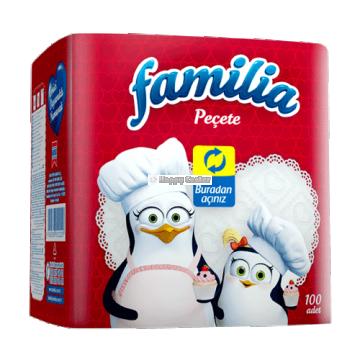 Familia Peçete 100'lü