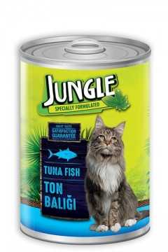 Jungle Kedi Maması 415 Gr Ton Balıklı
