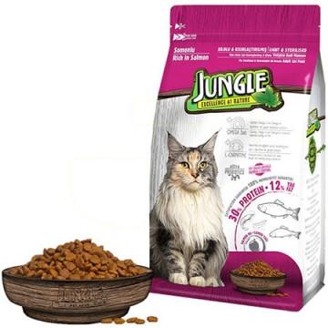 Jungle Yetişkin Kedi Maması 500 Gr Somon
