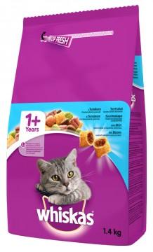 Whiskas 1400 Gr Ton Balıklı ve Sebzeli Yetişkin Kedi Maması