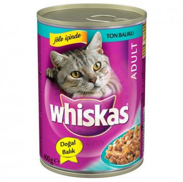 Whiskas 400 Gr Ton Balıklı Kedi Maması