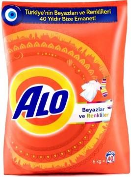 Alo Matik Çamaşır Deterjanı 6 Kg Beyaz Ve Renkliler