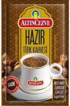 Altın Cezve Hazır Türk Kahvesi Sade
