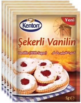 Kenton Şekerli Vanilin 5Li