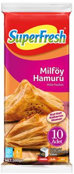 Superfresh Milföy Hamuru 500 Gr