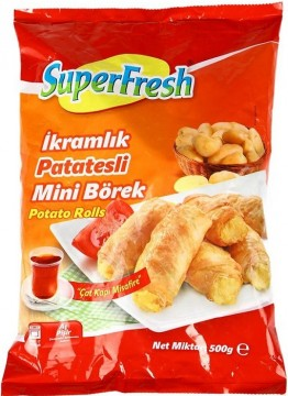 Superfresh Mini Börek 500 Gr Patatesli
