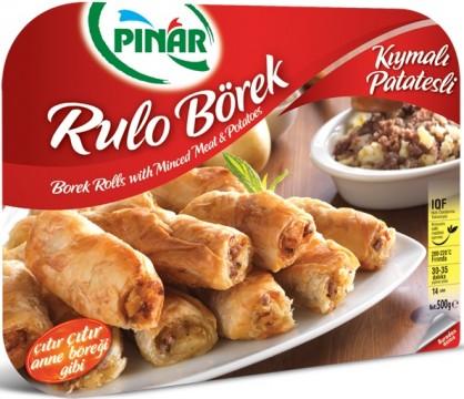 Pınar Donuk Rulo Börek 500 Gr Kıymalı Patatesli