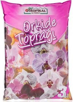 Tropikal Orkide Toprağı 3 Lt