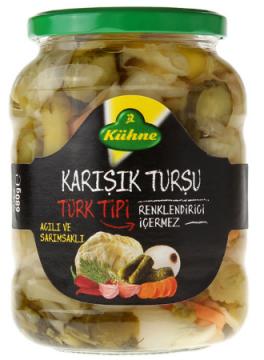 Kühne Turşu 720 ML Karışık Türk Tipi