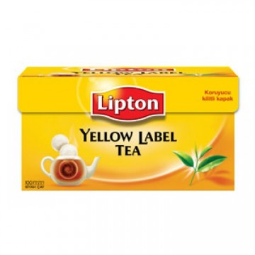 Lipton 320 Gr Yellow Label 100 Demlik